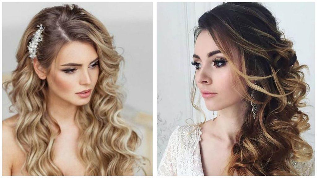 Lo más universal peinados de boda 2021 invitadas Galería de tendencias de coloración del cabello - Peinados para bodas pelo corto rizado | Uñas Acrilicas