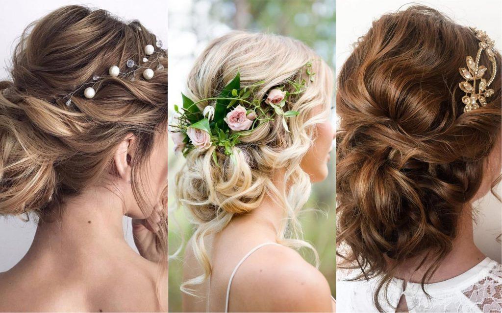 Más notable peinados bonitos para boda Colección de cortes de pelo estilo - Peinados para bodas media melena | Botox