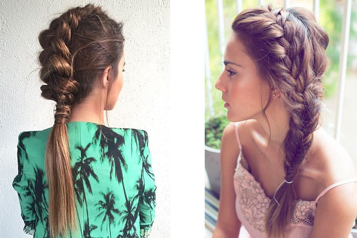 Exquisito peinados boda invitadas Colección De Tutoriales De Color De Pelo - Peinados para bodas media melena | Botox