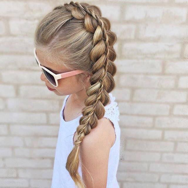 Peinados para niñas faciles y sencillos