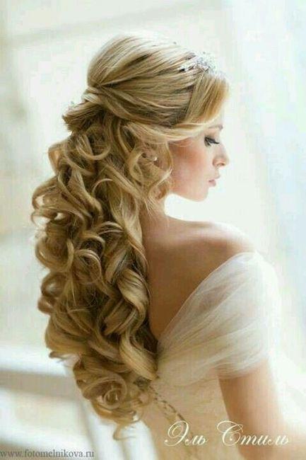 Peinados recogidos para vestido largo de noche