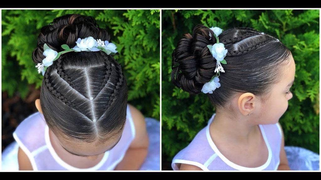 Fascinante peinados de niñas Imagen de cortes de pelo tutoriales - Peinados sencillos para niñas | Uñas Acrilicas