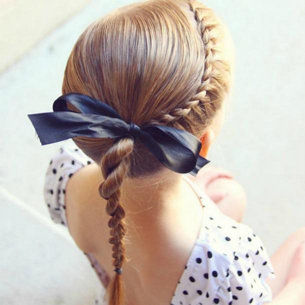 Peinados para niñas faciles sin trenzas