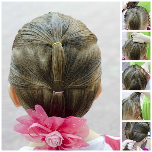 Peinados para niñas faciles y rapidos sin trenzas