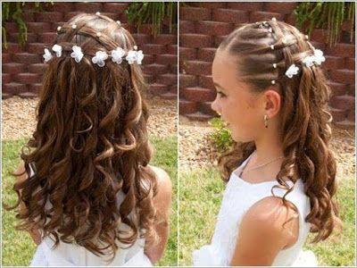 Peinados para niñas faciles sin ligas