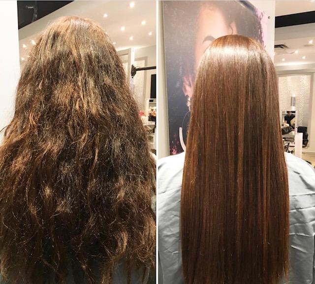 Queratina natural para el cabello