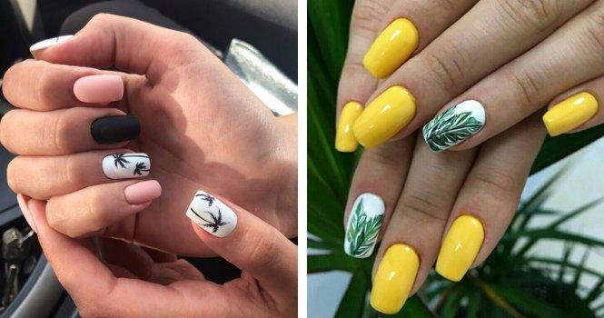 Fake nails kiss