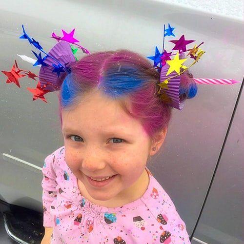 Peinados locos para niñas con pelo corto