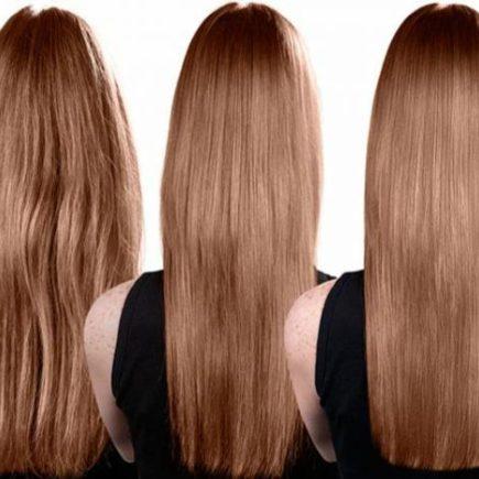 Keratina natural para alisar el cabello