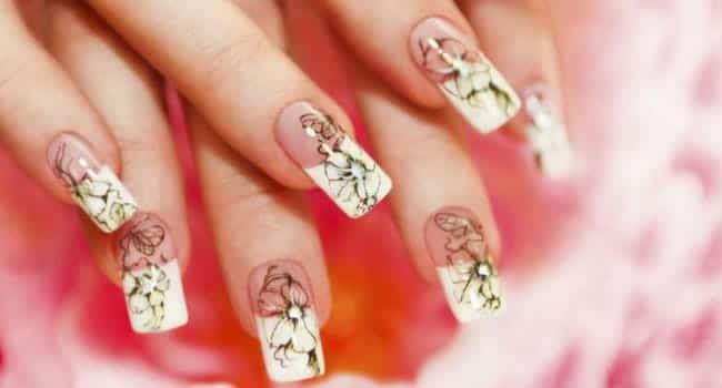 Uñas de acrilico naturales