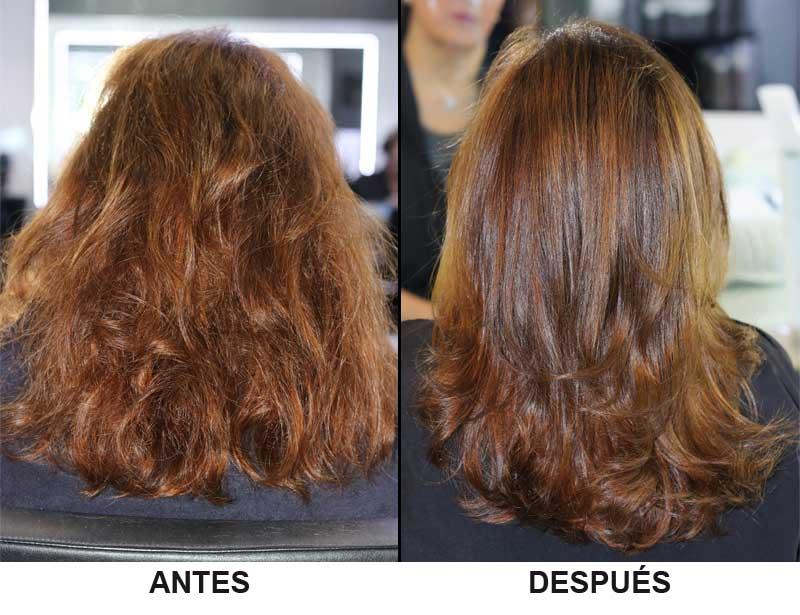Botox para el cabello en ampolla