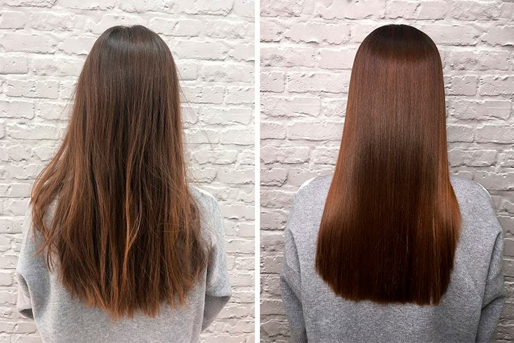 Ampolla de botox para el cabello como se prepara