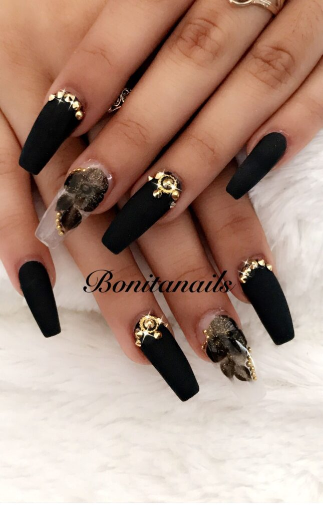 Short acrylics nails ideas