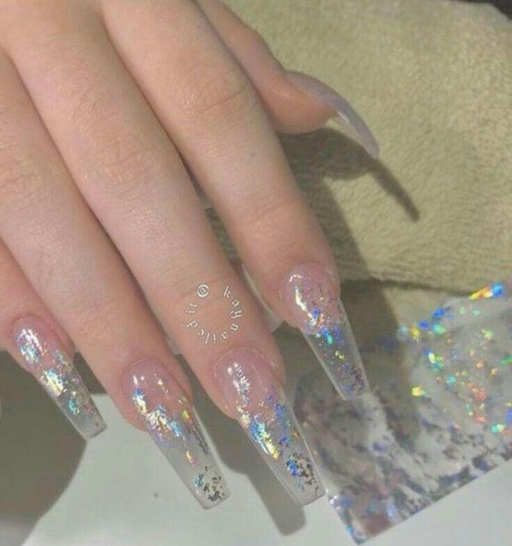 imágenes de uñas transparentes