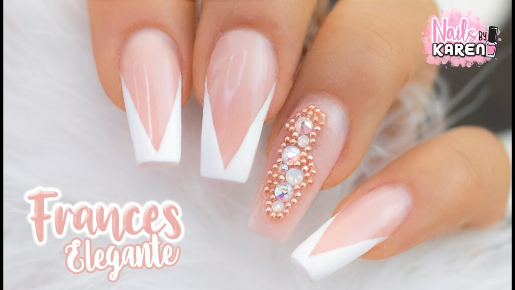 Imágenes de uñas francesas