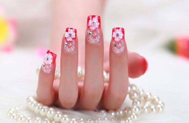Imágenes de uñas semipermanentes