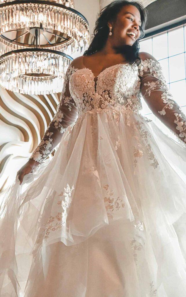 Wedding dresses for plus size