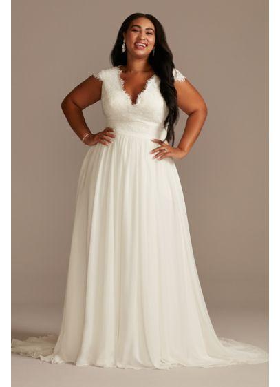 Wedding dresses for curvy plus size